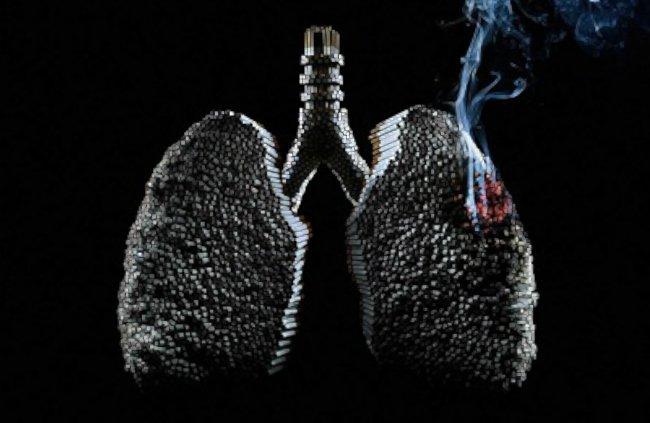 курение и рак легких